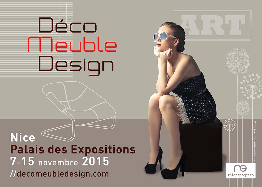 Nice : Nouveau ! Le Salon du Meuble SADECA devient DECO MEUBLE DESIGN© avec Nicexpo…