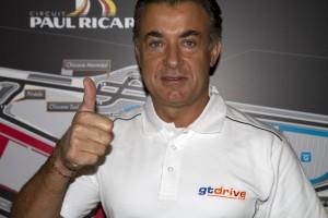 Jean Alesi, parrain officiel de GT Drive au circuit Paul Ricard…