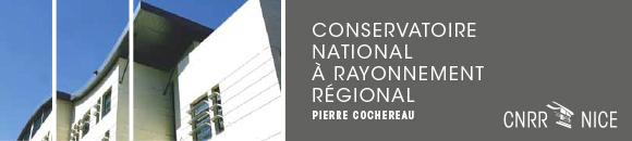 Nice : Concerts & Spectacles du mois d'Avril 2015 au Conservatoire National à Rayonnement Régional (CNRR)…