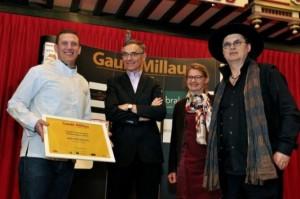 Eric Prowalski décroche le Trophée de l'Innovation 2015 du Gault et Millau Tour 2015…