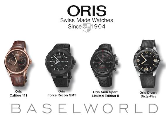 Bâle (Suisse) : Les modèles 2015 de montres ORIS…
