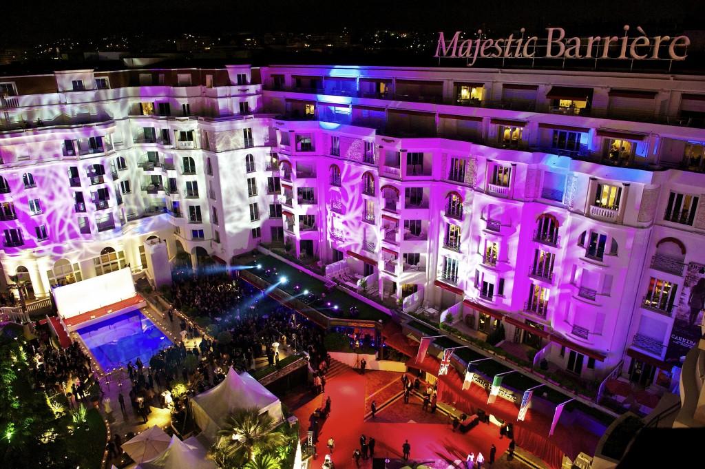 L'Hôtel Barrière Le Majestic Cannes sous les étoiles du Festival de Cannes…