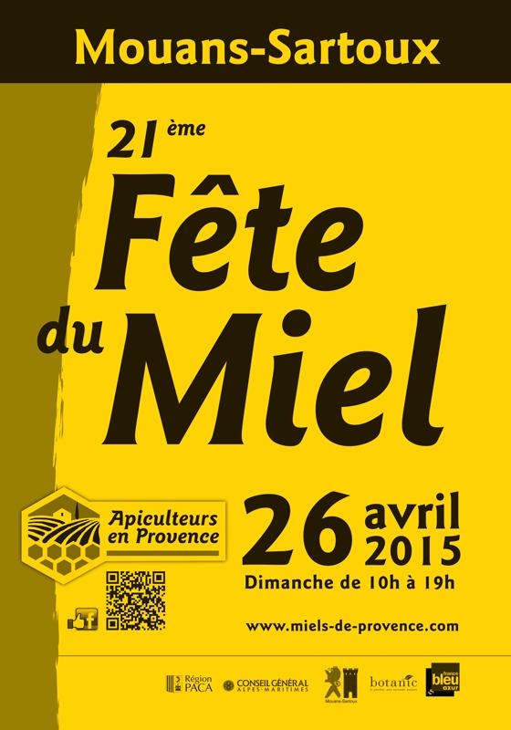 Mouans-Sartoux : «21 ème Fête du Miel »  …