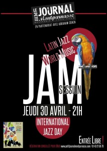 Jazz Paris : Jam Session International Jazz Day au Petit Journal Montparnasse…