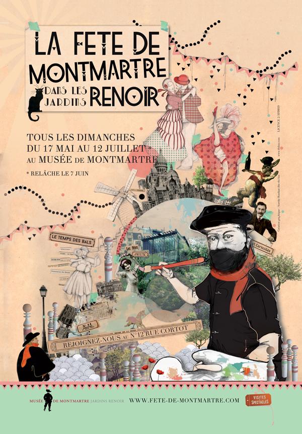Fête familiale au Musée de Montmartre…
