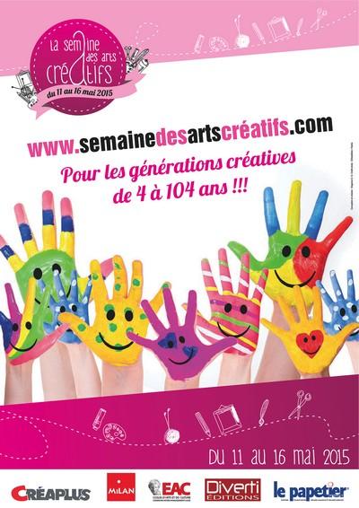 Semaine des Arts Créatifs 2015…