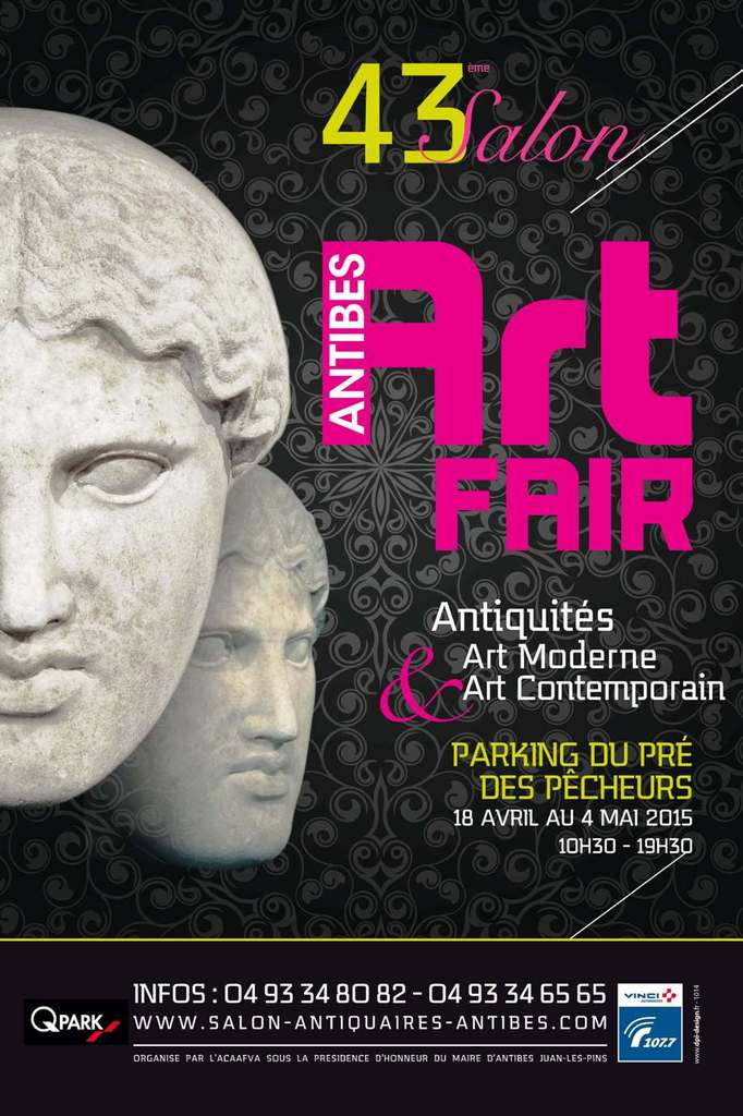 « Antibes Art Fair : 43 ème Salon d'Antiquités, d'Art Moderne et d'Art Contemporain  » …