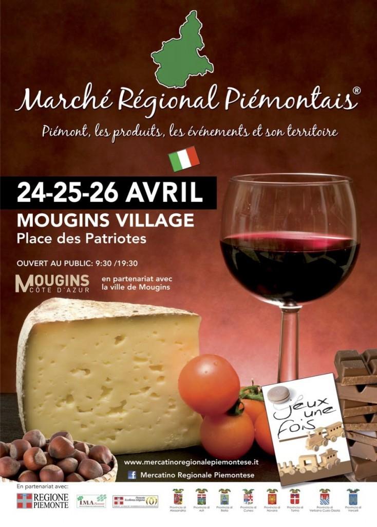 Mougins : Marché Régional Piémontais…