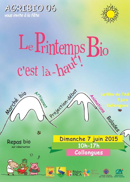 Collongues (06) : Le Printemps Bio c'est là-haut !…