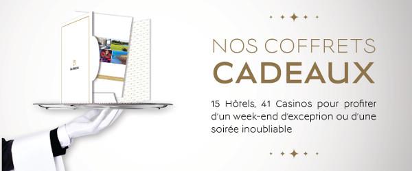 A l'occasion de la Fête des Mères les Hôtels & Casinos Barrière proposent une sélection de coffrets cadeaux…