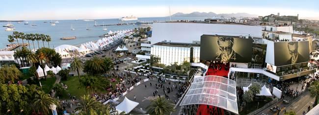 Le Palais des Festivals et des Congrès au cœur du Festival de Cannes…