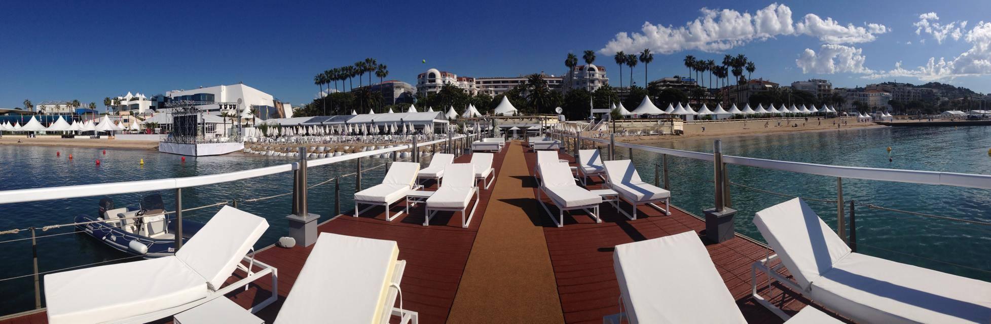 Festival des saveurs pour la soirée de clôture du Festival de Cannes avec 1 400 convives au Majestic…