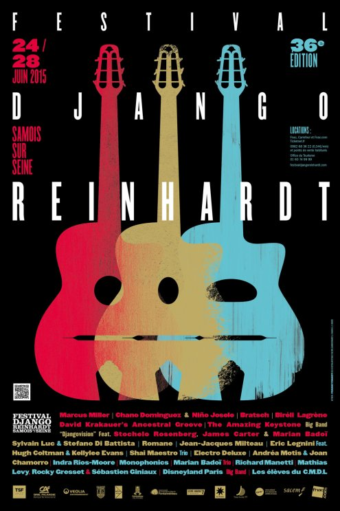 Festival Django Reinhardt Samois sur Seine 2015…