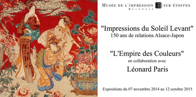 Exposition «Impressions du Soleil Levant » 150 ans de relations Alsace-Japon…