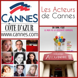 Les Acteurs de Cannes organisent une soirée projection de films au Théâtre Alexandre III…