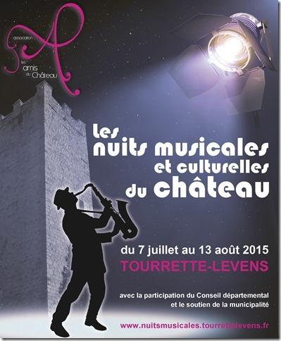 Tourrette-Levens : Festival «Les Nuits Musicales et Culturelles» du château…