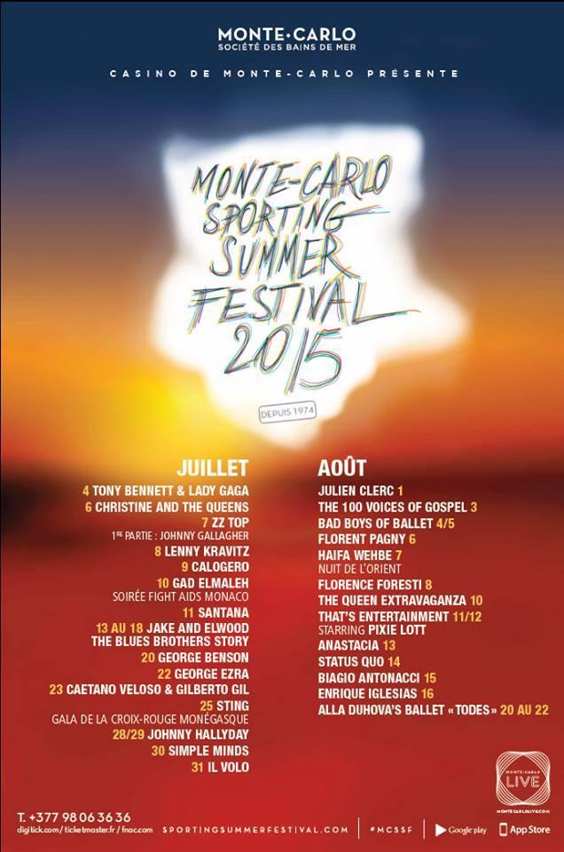 Monte-Carlo Sporting Summer Festival 2015 …