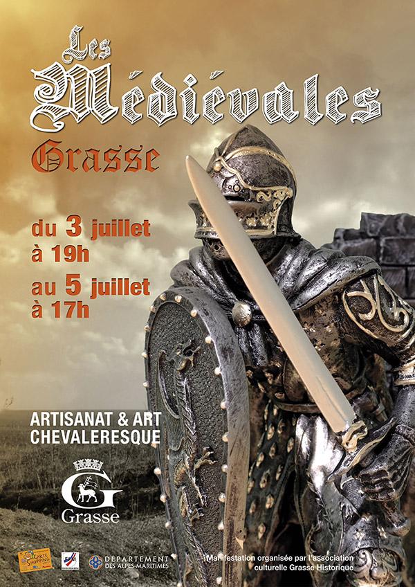 Grasse : «Les Médiévales »  installent leur campement…