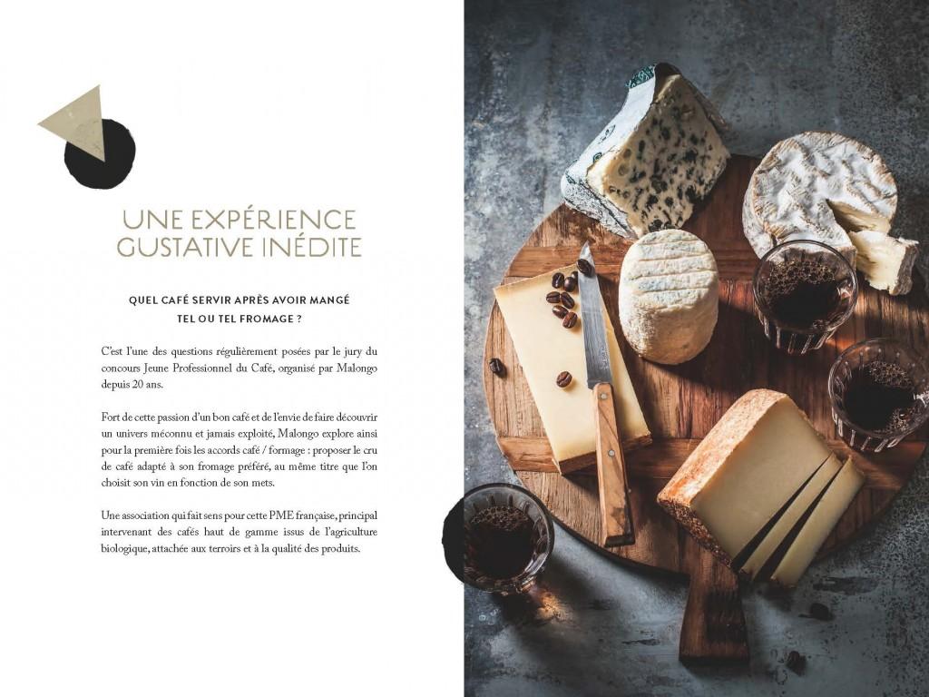 Malongo, Torréfacteur Niçois présente ses accords cafés et fromages…