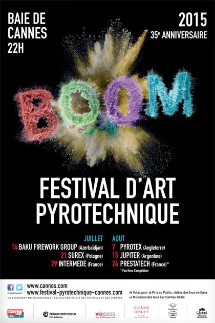 Festival d'Art Pyrotechnique 2015…REPORT DU FEU D'ARTIFICE DU MERCREDI 29 JUILLET 2015 AU LENDEMAIN JEUDI 30 JUILLET 2015…