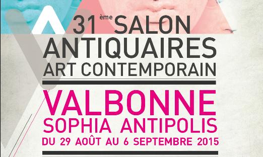 Valbonne Sophia-Antipolis : 31 ème Salon d'Antiquités, Art Moderne et Contemporain…
