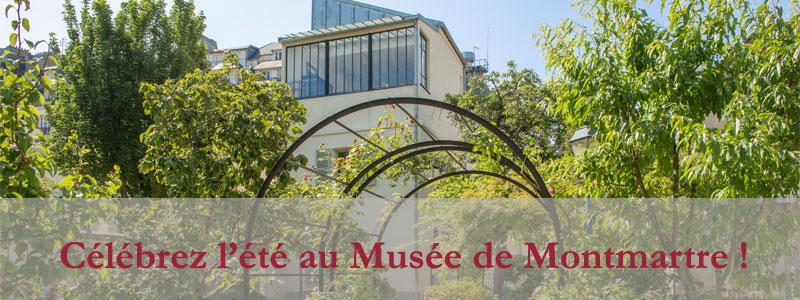 Célébrez l'été au Musée Montmartre…