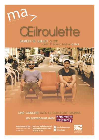 Biot : Ciné-Concert en partenariat avec «Un Festival c'est trop court ! »  …