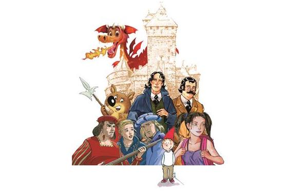 Orschwiller (Bas-Rhin) : Château du Haut-Koenigsbourg, le Festival de BD et d'illustration «L'imaginaire médiéval et le fantastique»…