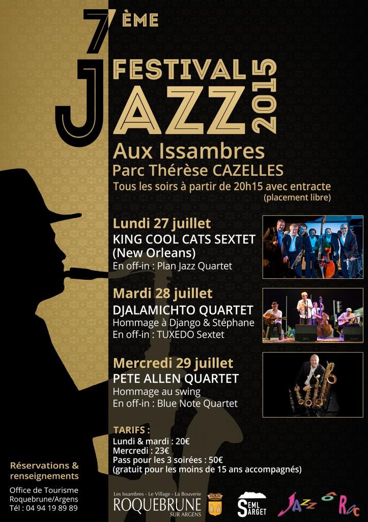 7ème Festival de Jazz aux Issambres (Roquebrune-sur-Argens)…