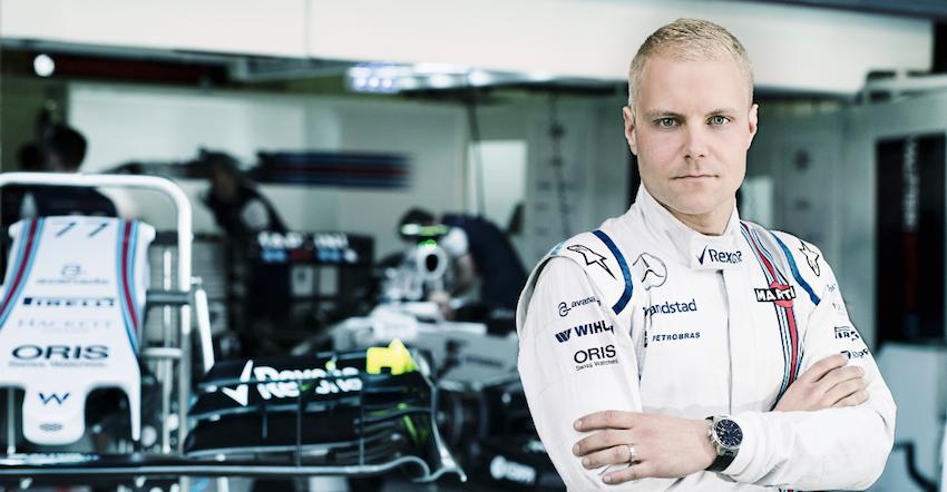 Valtteri Bottas, jeune pilote prometteur de Formule 1 Ambassadeur Oris