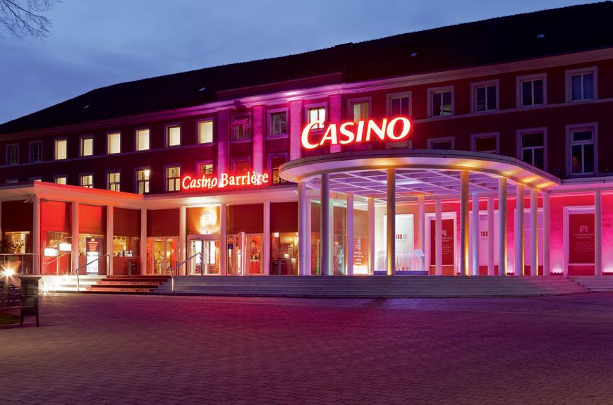 Niederbronn-Les-Bains (Bas-Rhin) : Les plus beaux lendemains se dévoilent aujourd'hui au Casino Le Barrière…