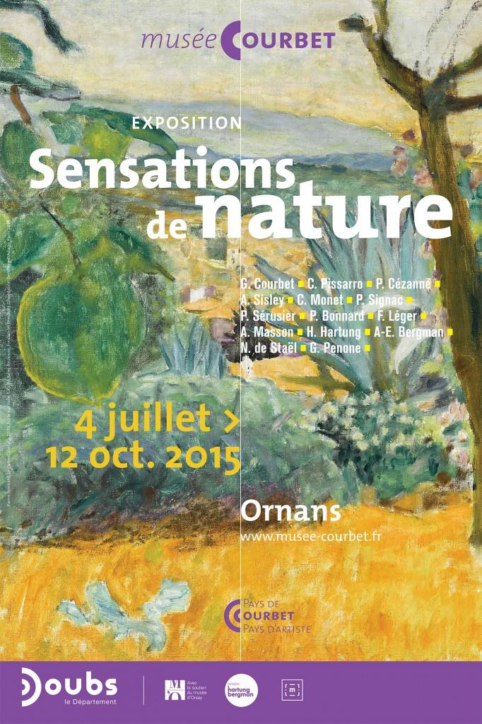 Ornans (25) : Exposition Sensations de nature, de Courbet à Hartung jusqu' au 12 octobre 2015 au musée Courbet…