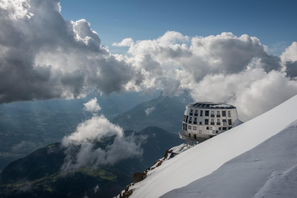 Fermeture temporaire du Refuge du Goûter sur la voie d'accès au Mont Blanc…
