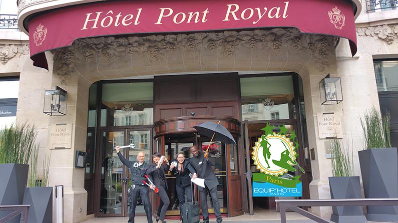 Le 1er Raid Inter-Hôtels Paris – Equip'Hotel à l'assaut de la capitale, le 30 août prochain…