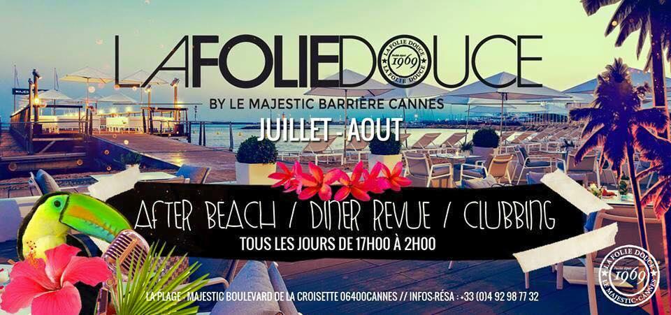 Grande Closing de La Folie Douce by Le Majestic Barrière Cannes : un week-end de show…