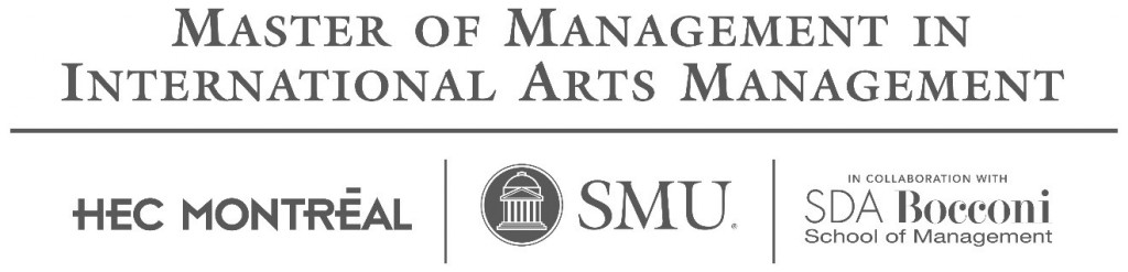 Ouverture des inscriptions pour la promotion 2016 du Master of Management in International Arts Management de HEC Montréal, SMU et SDA Bocconi School of Management…