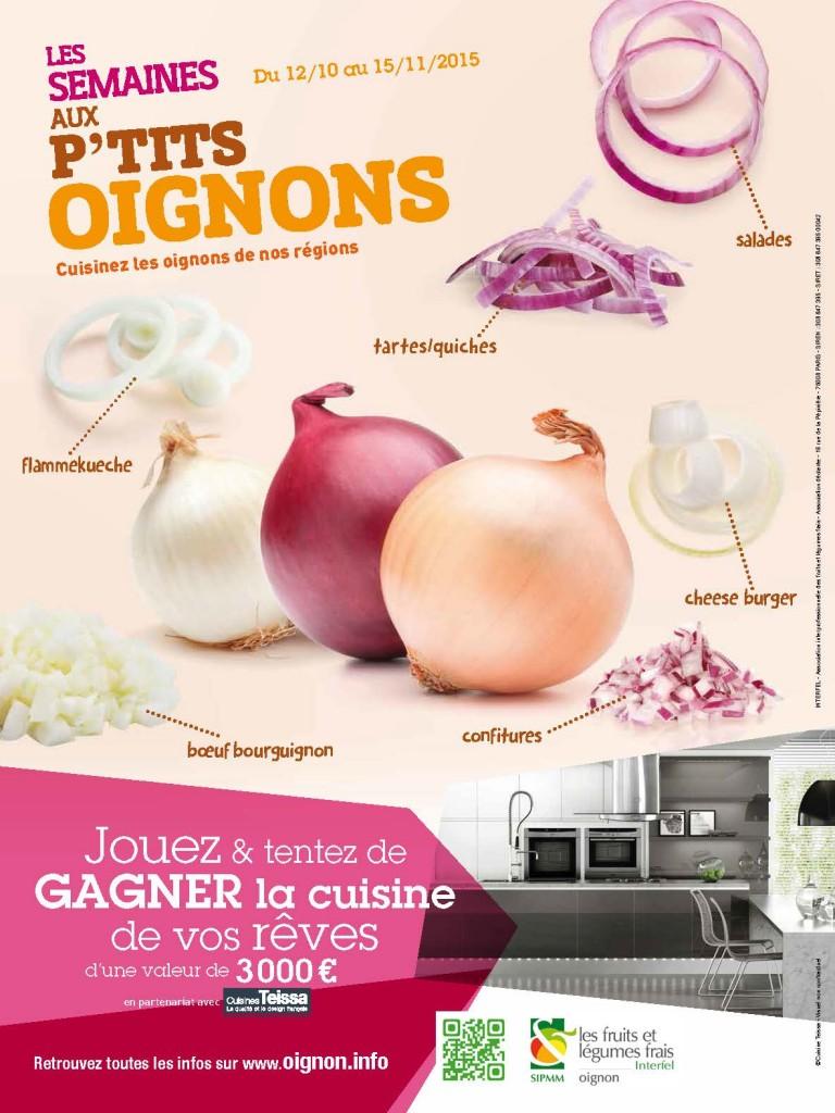 Au menu de cette nouvelle édition : des recettes créatives à base d'oignon et un jeu concours pour gagner la cuisine de ses rêves !