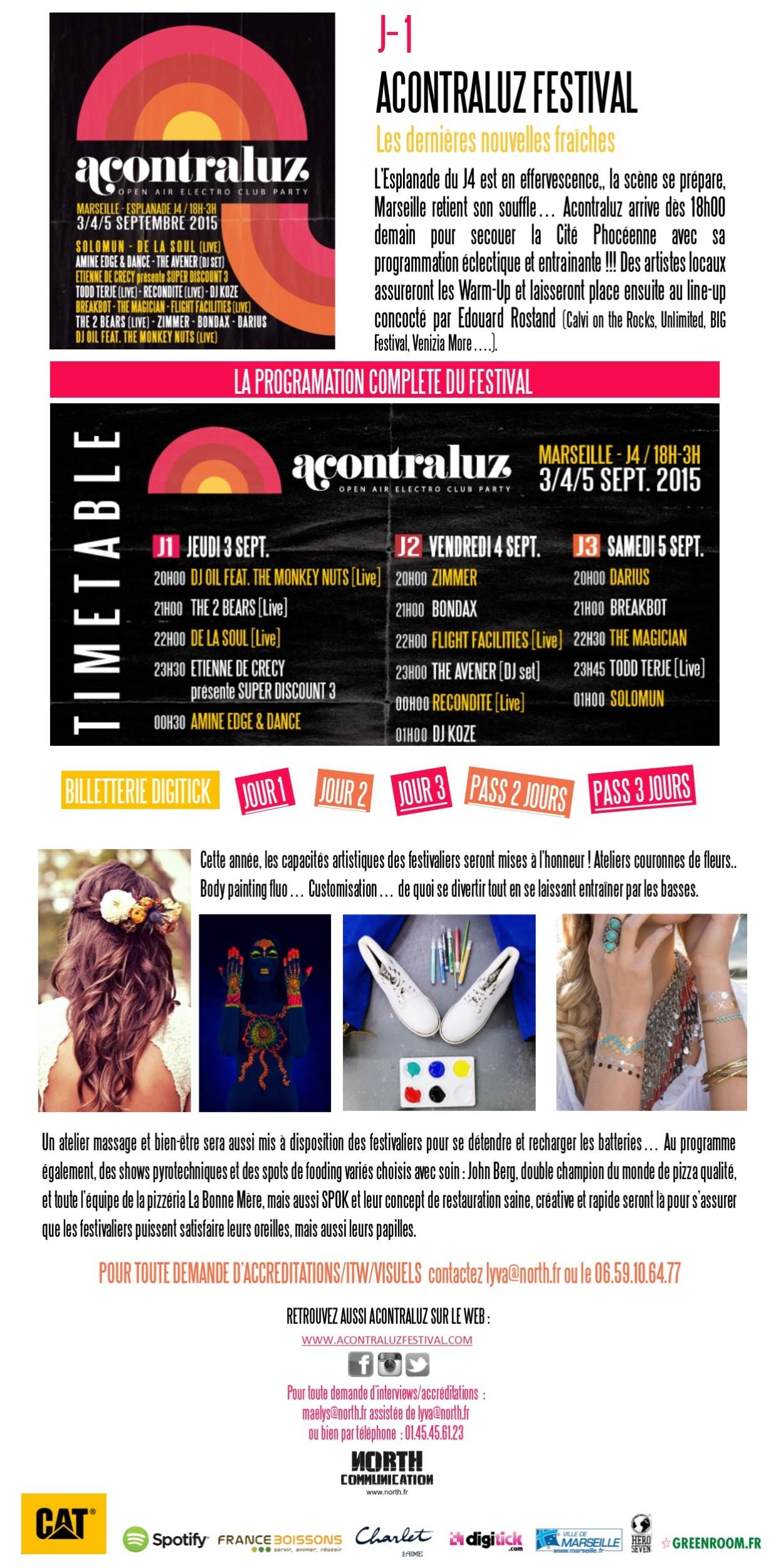Marseille : Acontraluz Festival …