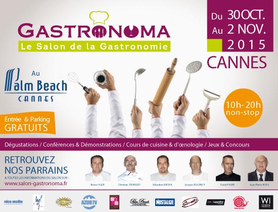 A Cannes, la première édition du Salon GASTRONOMA met l'eau à la bouche de la Côte d'Azur …