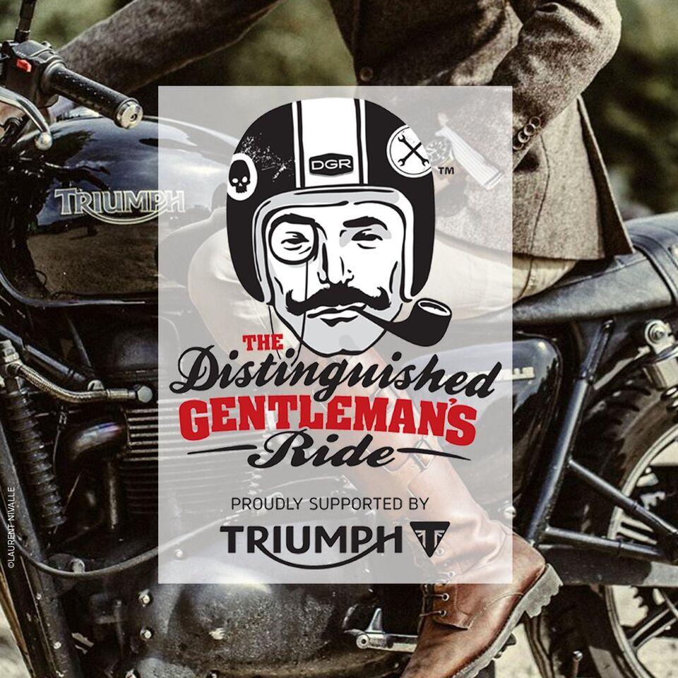 Le «Distinguished Gentleman's Ride» aura lieu le 27 septembre 2015 dans 400 villes dans le monde…