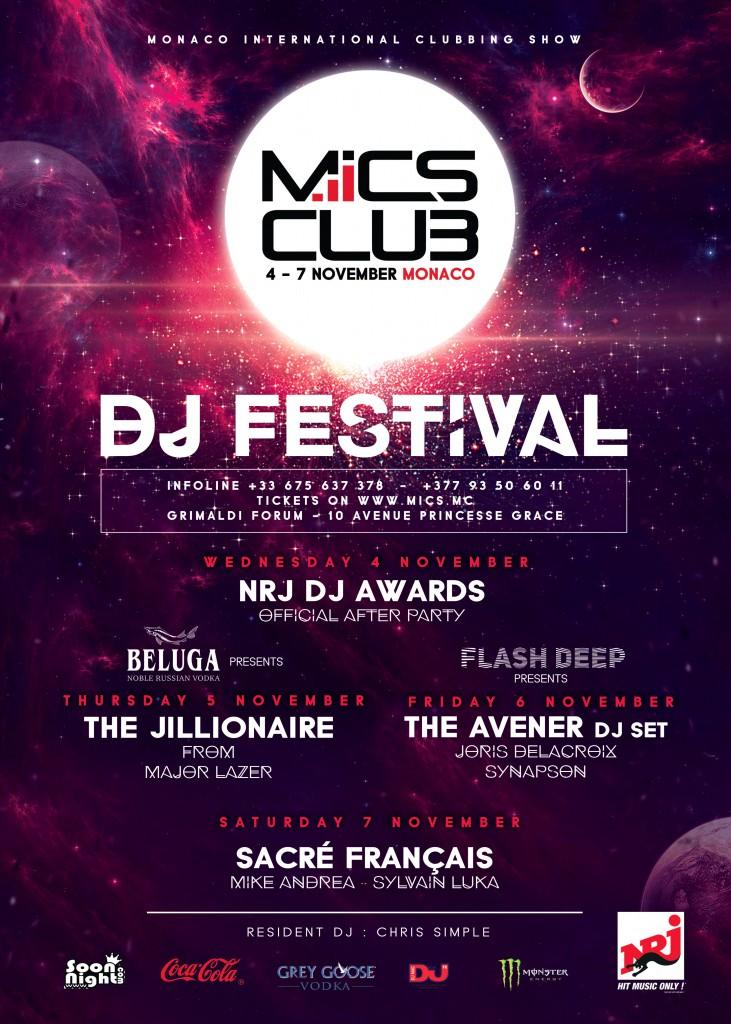 Monaco : MICS DJ Festival 2015…