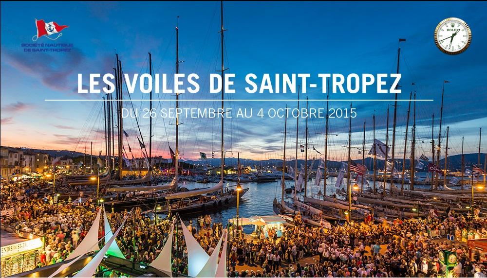 «Les Voiles de Saint-Tropez 2015 et leur régate » …