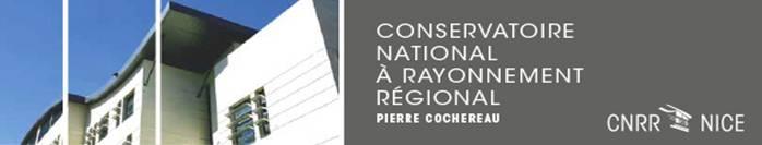 Nice : Programme des Concerts & Spectacles des mois de Novembre et Décembre 2015 au Conservatoire National à Rayonnement Régional (CNRR)…