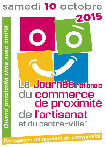 La Journée nationale du commerce de proximité, de l'artisanat et du centre-ville®…