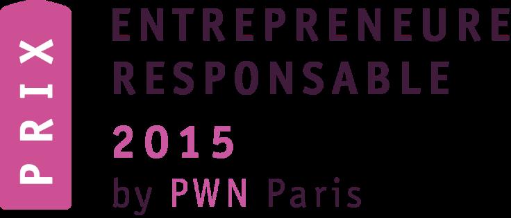 Lauréate du Prix de l'Entrepreneure Responsable…