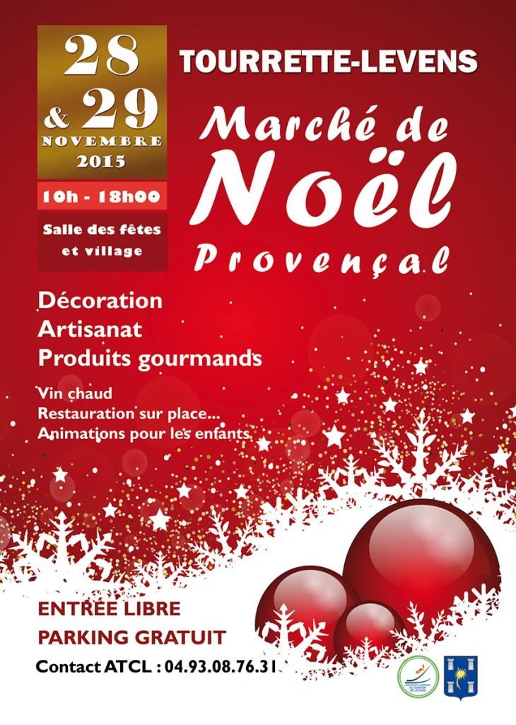 Tourrette-Levens : «Marché de Noël 2015 »  …