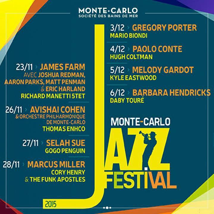 Monte-Carlo Jazz Festival 2015…