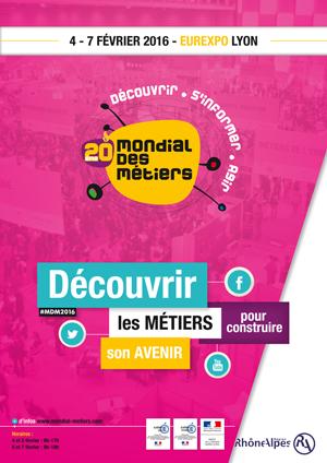 Lyon : 20 ans du Mondial des Métiers 2016…