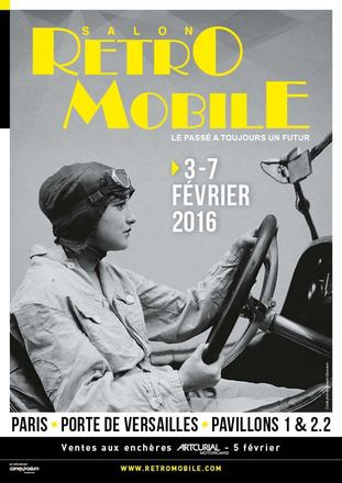 Paris : Salon Retromobile 2016 …