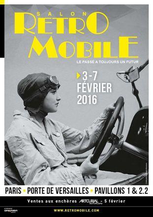 Paris : Salon Retromobile 2016 …